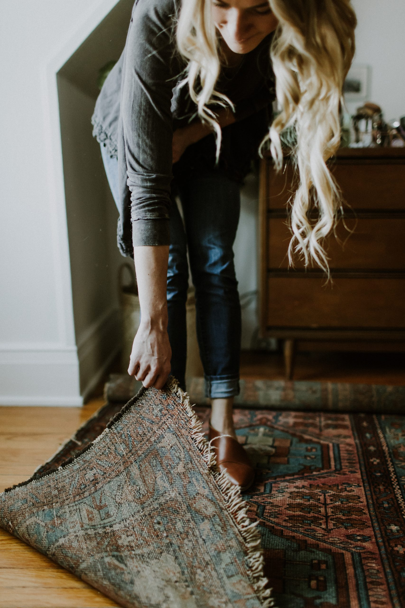 How to Care for Your Handmade, Persian Rugs | Thoughtfully Thrifted | Miranda Schroeder Blog | www.mirandaschroeder.com