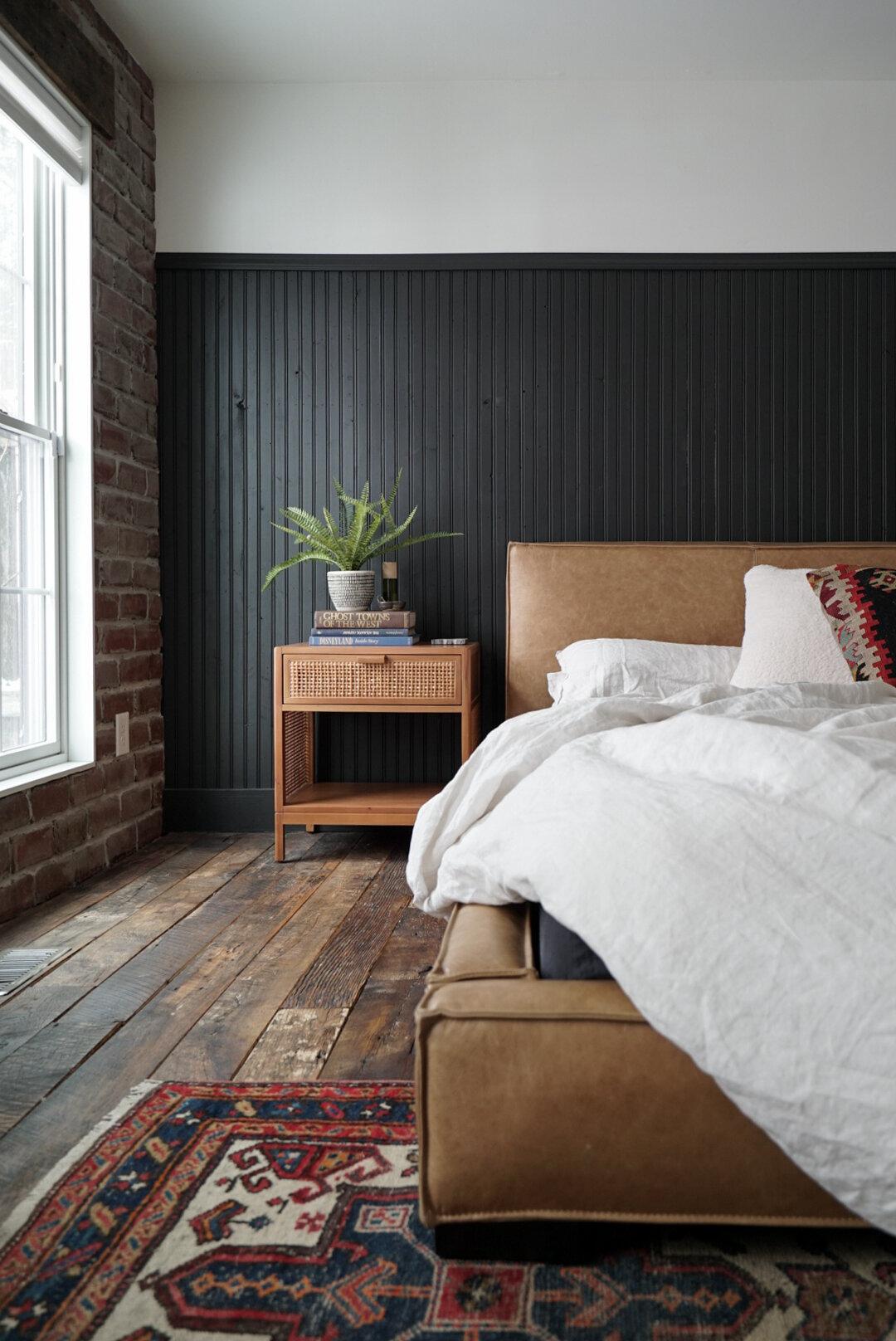 Orc Week One Dark Moody Master Bedroom Inspiration Miranda Schroeder
