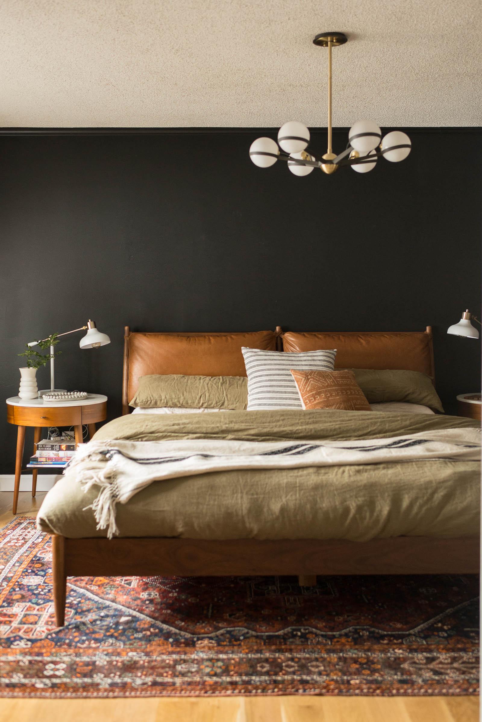 Dark & Moody Master Bedroom Inspiration | Miranda Schroeder Blog  www.mirandaschroeder.com