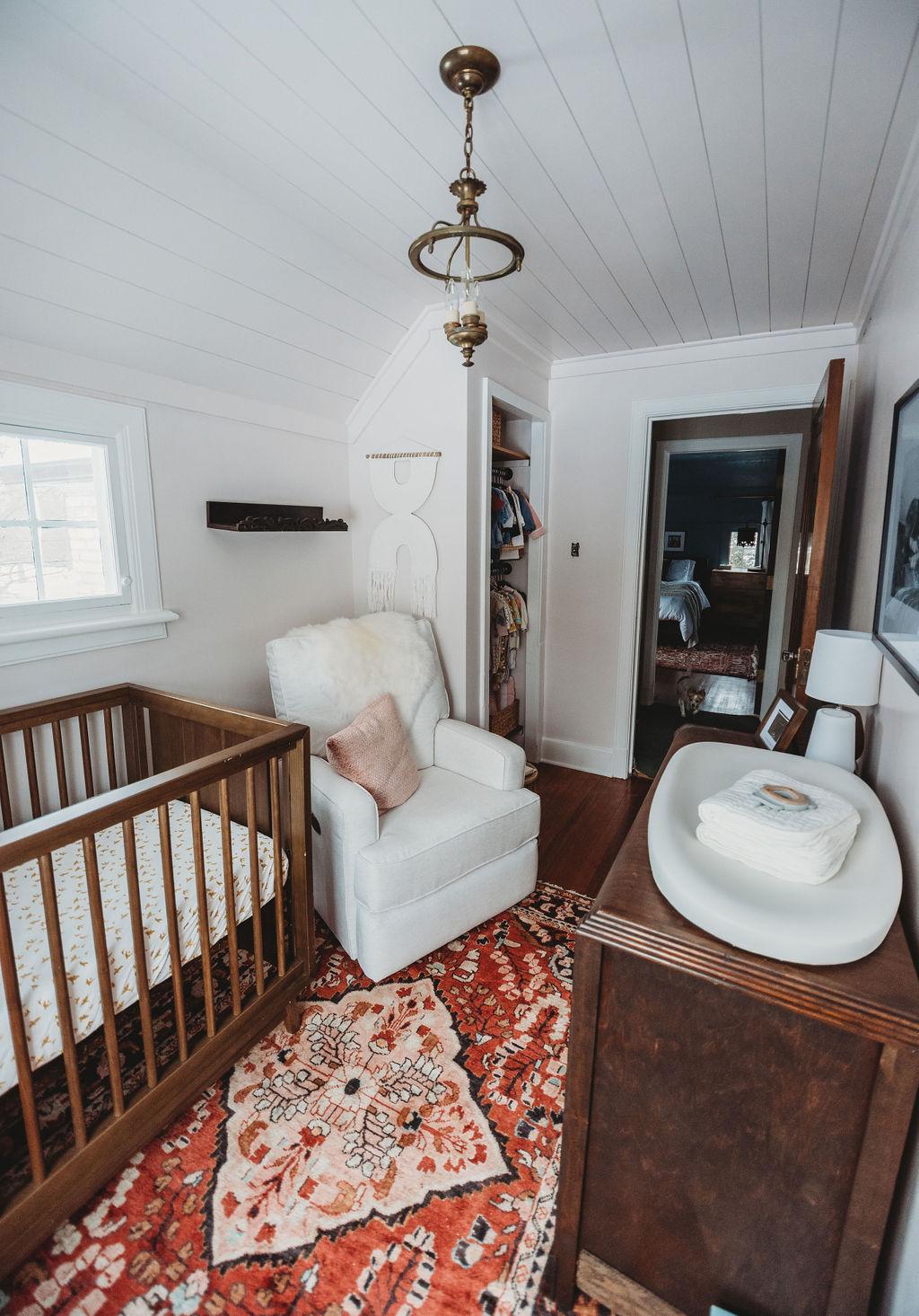 Baby Schroeder's Feminine and Sophisticated Nursery Reveal | Miranda Schroeder Blog  www.mirandaschroeder.com